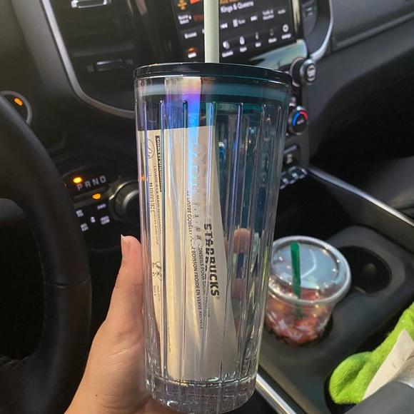Starbucks glass tumbler